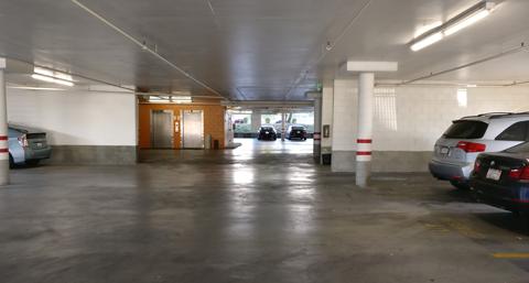 Spacious Underground Parking